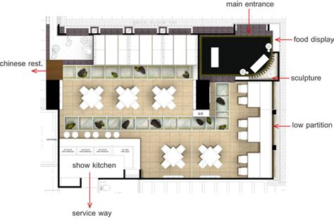 layout japanese restaurant grand four wings convention hotel napong kulangkul