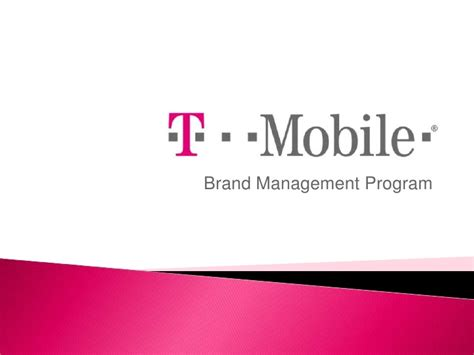 t mobile powerpoint template brand management exle t mobile presentation