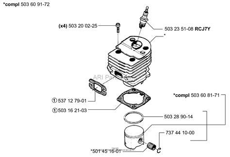 husqvarna 55 rancher parts diagram husqvarna 55 rancher epa 2004 01 parts diagram for