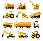 乗り物の車両アイコン Vector Transport Vehicle Icons