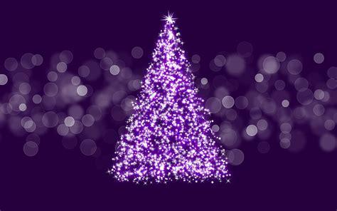 wallpaper christmas purple sparkling christmas tree wallpaper 15931