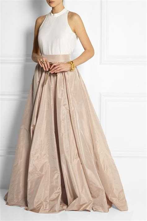 pleated maxi packham and pleated maxi skirts on
