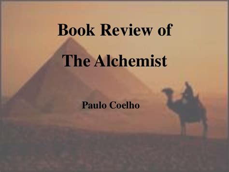 book report on the alchemist book review the alchemist