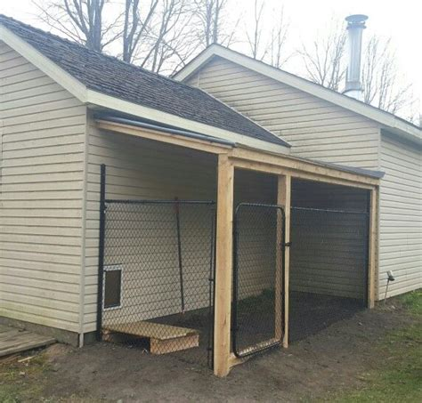 dog house with attached kennel 17 best images about garage ideas on pinterest k9 kennels garage plans and custom