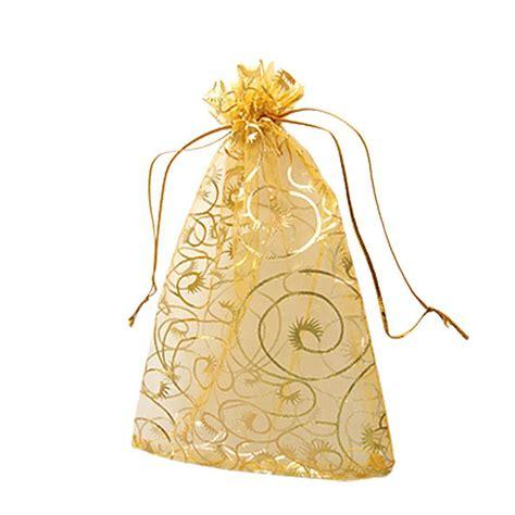 organza christmas gift bags