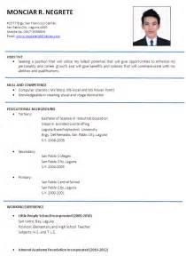 Teacher resume examples and registered dietitian resume sample