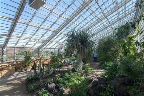 How Much Is The Botanical Garden Greenhouse Roof Transforms According To How Much Sun Plants Need Co Design Business Design
