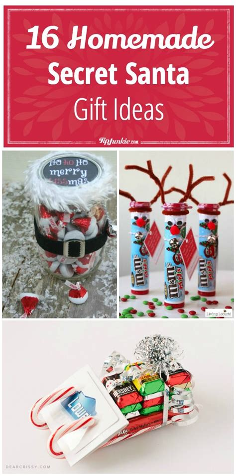16 homemade secret santa gift ideas via tipjunkie gift