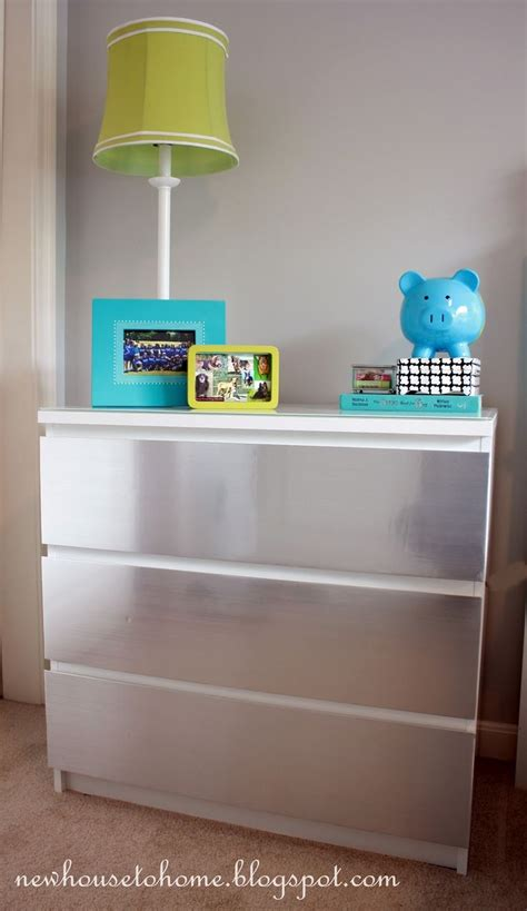 malm dresser redo chrome spray paint furnish 41 best ikea malm creativity images on pinterest