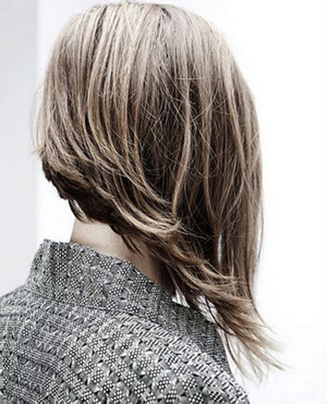 pictures of long hair front short back hairstyles short in back long in front