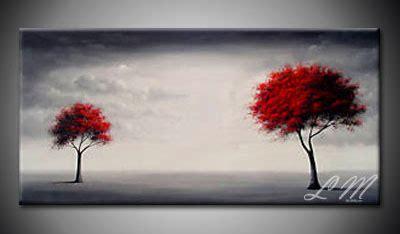 Lukisan Hiasan Dinding Ranting Background Putih lukisan bunga idelukisan