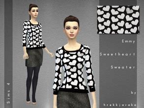 Wst 14788 Woolen Set Top Skirt hrekkjavaka s sims 4 downloads