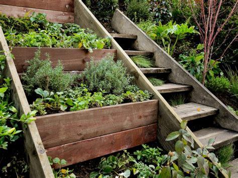 Gartenideen Terrasse by Gartentreppe Holz Gartenideen Mit Treppen