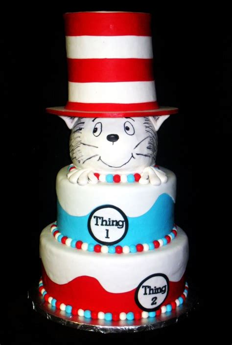 Dr Seuss Cakes Baby Shower dr seuss baby shower cake cakecentral