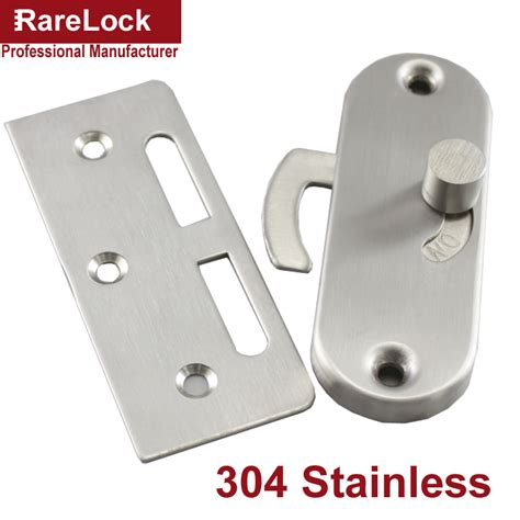 bathroom door latch rarelock christmas supplies stainless latch sliding door