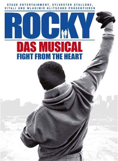 Plakat Rocky by Rocky Fight From The Heart Musical Reviews