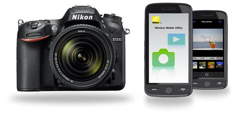 wireless mobile utility app connect wifi enabled cameras nikon