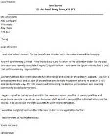 care worker cover letter example   Cover Letters   icover