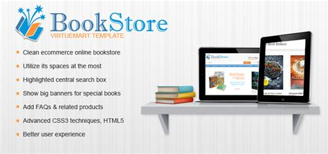 virtuemart book store template book stores theme by