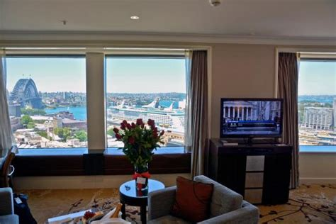 Sydney Harbour View Hotel Rooms by Room View From Premier Grand Harbour View Room At Shangri La Hotel Sydney Australia Picture