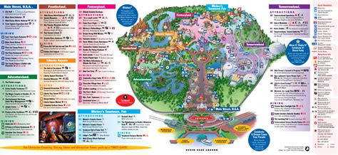 disney world magic kingdom map disney magic kingdom map printable car interior design
