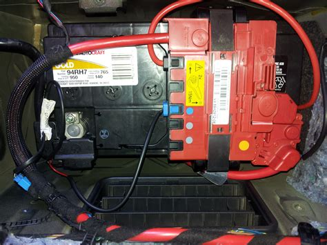 bmw e90 battery location bmw 335i sedan 2007 bmw 335i sedan e90 the battery was