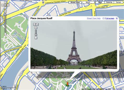 google images eiffel tower google street view eiffel tower paris france search