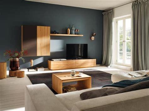 wohnzimmer wandfarbe petrolfarbene wandfarbe bilder ideen couchstyle