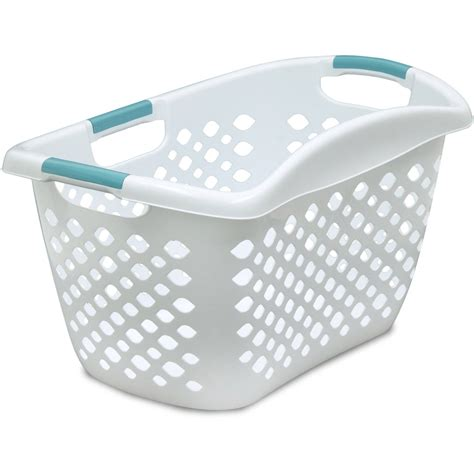 laundry basket sterilite 2 bushel ultra laundry basket multiple colors
