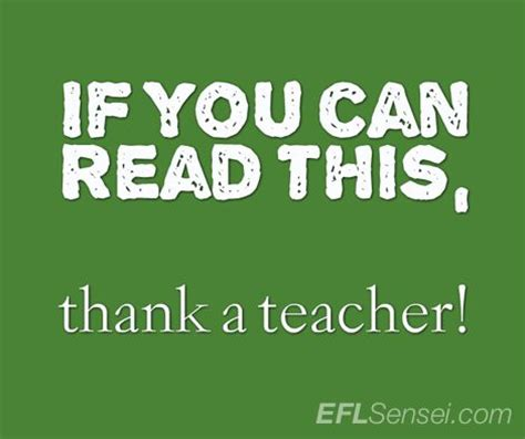 quot if you can read if you can read this thank a teacher anonymous teacher