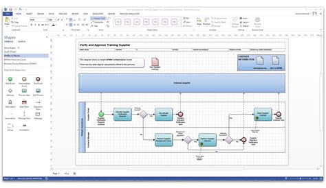 bpmn 2 0 modeler for visio bpmn orbus software