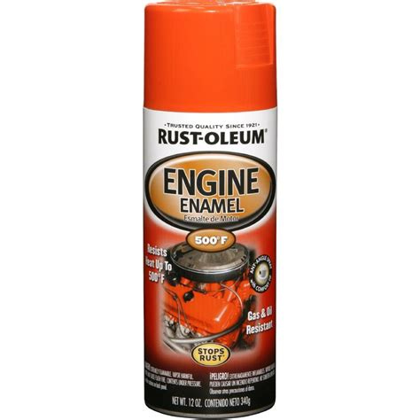 Rust Oleum Automotive 12 oz. Engine Enamel Gloss Chevy