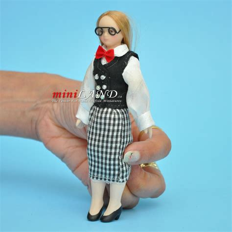 porcelain doll with glasses with glasses porcelain doll 5 5 quot h