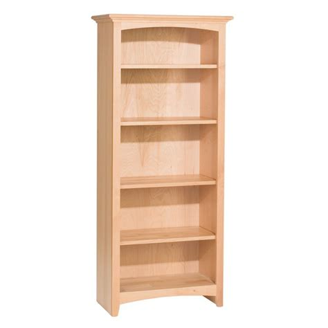 Whittier Wood Mckenzie Bookcase Collection 24 Quot Wide Wide Bookshelves