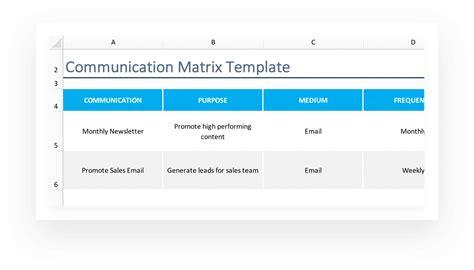 project communication matrix template communication matrix how to template teamgantt