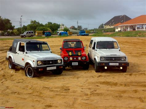 modified gypsy team bhp modified gypsy maruti picture pictures