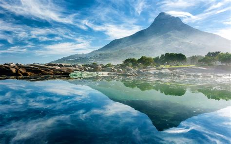 desktop themes reflections ocean reflection wallpapers hd wallpapers id 13908