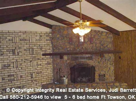 Fireplace Stores In Okc by Fort Towson Oklahoma Home For Sale 5 Or 6 Bedroom 2
