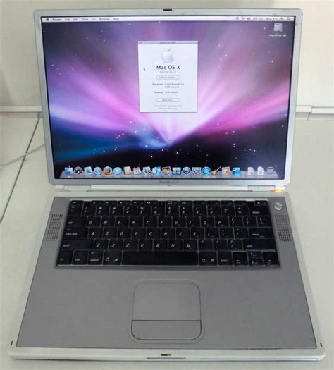 Laptop Apple Powerbook G4 apple powerbook g4 titanium laptop 15 quot 1ghz m8859ll a