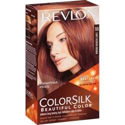 revlon colorsilk beautiful color colorsilk beautiful color 55 light reddish brown by