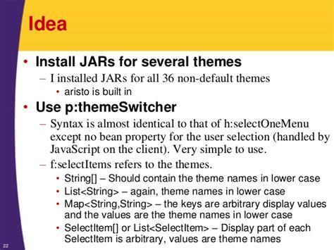 themes primefaces jar primefaces tutorial themes skins