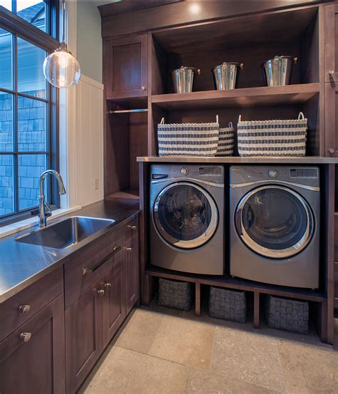 industrial laundry room shingle style family home home bunch interior design ideas