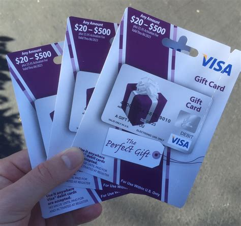 Where To Buy Visa Gift Cards With No Fee - another cautionary tale about us bank issued visa gift cards sold at ralph s in socal