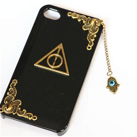 Casing Iphone X Harry Potter And The Deathly Hardcase Custom Cove iphone 4 4s cover iphone 5 cover from wearingpretty on