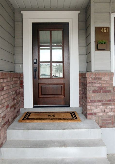 Exterior Door Trim Ideas Best 25 Exterior Door Trim Ideas On Front Doors Front Doors And Currant Ideas