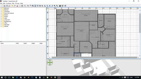 sweet home 3d tutorial creating floor plan