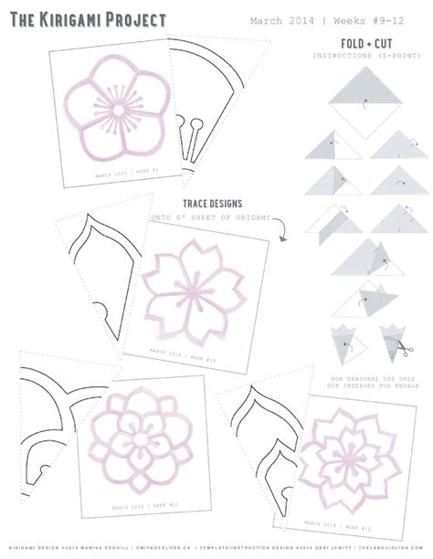 kirigami templates omiyage blogs the kirigami project week 12
