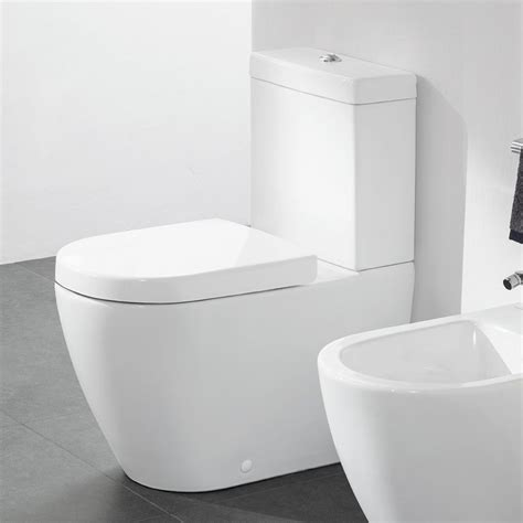 villeroy boch subway  rimless close coupled toilet