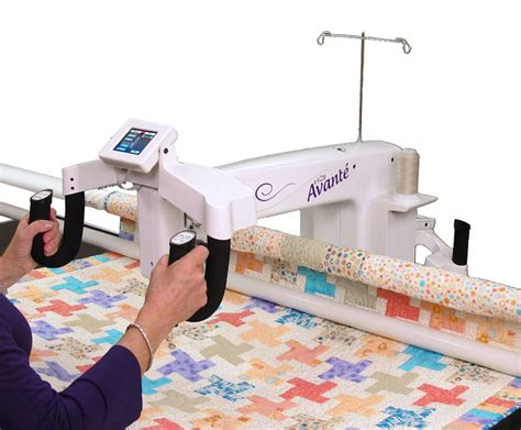 Hq Avante Longarm Quilting Machine hq 18 avante arm quilter w pro stitcher and 12ft frame