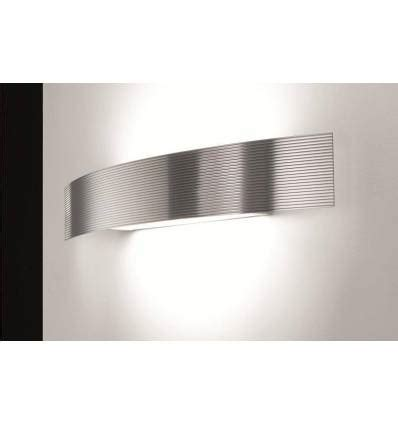 selene illuminazione selene illuminazione lada da parete serie bridge in acciaio